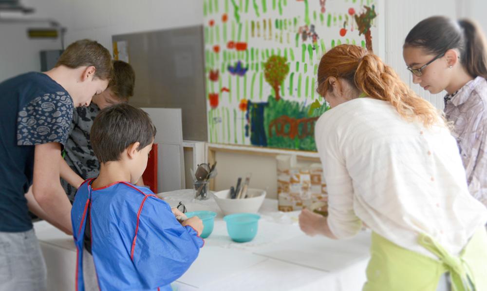 Cours de modelage pour enfant - La Chaux-de-Fonds et Neuchâtel